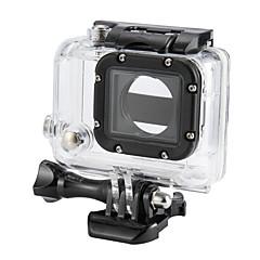 אביזרים לגו פרו,נרתיק הגנה תושבת עמידה במים עמיד במים, ל-מצלמת פעולה,Gopro Hero 3 3pcs In 1 ABS פלסטיק