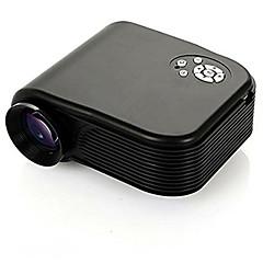 h86 1080p hjemmebiograf projektor 800lumens 3d førte av / usb / vga / sd