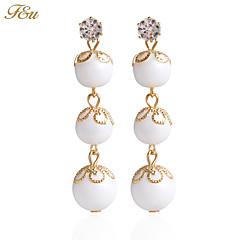 Visací náušnice Náušnice Náušnice Set Imitace perlyZákladní design Květiny Napodobenina perel Módní Rozkošný Cute Style Ručně vyrobeno