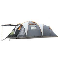 > 8 osoba Dvaput Tri sobe s prozorčićem šator za kampiranjeKampiranje Putovanje