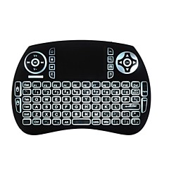 Écouteurs volants rétro-éclairés au clavier de la souris kp21btl Bluetooth 2.4ghz sans fil pour téléviseur Android et PC avec pavé tactile