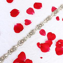 Lichtmetaal Huwelijk Feest/Uitgaan Dagelijks gebruik Sjerp-Sierstenen Strass Sierstenen Strass