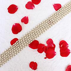 Alliage Mariage Fête/Soirée Quotidien Ceinture-Billes Strass Imitation de perle Billes Strass Imitation de perle