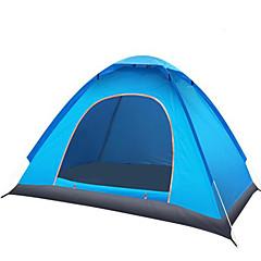 """2 אנשים אוהל אביזרים לאוהל יחיד אוהל אוטומטי חדר אחד קמפינג אוהל 1000-1500 מ""""מ סיבי זכוכית אוקספורד סרט כסףעמיד ללחות עמיד למים נשימה"""