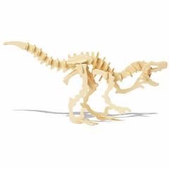 פאזלים צעצועיערכת עשה זאת בעצמך פאזלים3D פאזל צעצועי היגיון ופאזלים אבני בניין צעצועי DIY דינוזאור 1 צעצוע בניה ודגם