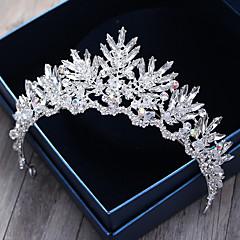 Strass kristal legering hoofdstuk-bruiloft speciale gelegenheid outdoor tiaras hoofdband haarpin 1 stuk