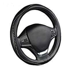 Автомобильный чехол для автомобиля с рулевым колесом sporty wave pattern с красной строчкой m размер подходит для 38 см / 15 диаметров