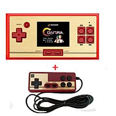 Rs-30 clássico retro jogo console portátil portátil 2.6 600 jogos bolso livre cartucho 2o jogador controlador para fc