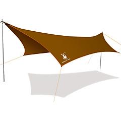 GAZELLE OUTDOORS >8 사람 쉘터 & 타프 캠핑 텐트 원 룸 트리 룸 방수 방풍 자외선 방지 비 방지 폴더 통기성 용 하이킹 캠핑 야외 CM