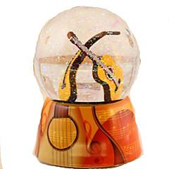 Caixa de música Circular Hobbies de Lazer Vidro Não Especificado