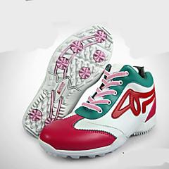 נעלי הרים נעלי גולף לנשים נגד החלקה חסין בפני שחיקה נושם טבע סוליה גבוהה גומי צעידה