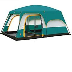 Dvaput šator za kampiranjeKampiranje Putovanje-Zelen