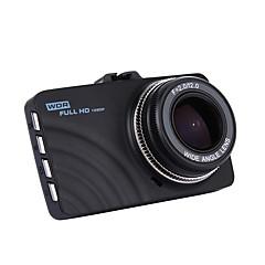 Novo y18 3 carro dvr lcd fhd 1080p veículo de 140 graus multi-language camcorder traço cam câmera gravador de vídeo digital visão noturna