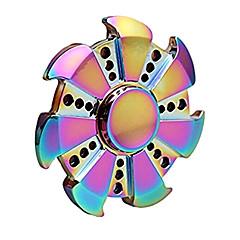 Toupies Fidget Spinner à main Jouets Ring Spinner Métal EDCSoulage ADD, TDAH, Anxiété, Autisme Pour le temps de tuer Focus Toy