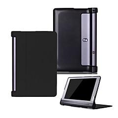 pu tok lenovo yoga tab3 fül 3 10 plusz yt-x703 x90 és képernyővédő fólia