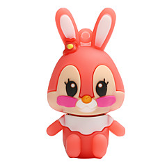 Hot new cartoon rabbit usb 2.0 128gb lecteur flash carte mémoire