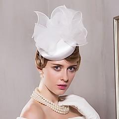 Satin Organza Headpiece-Wedding Special Occasion Casual Office & Career Hats 1 Piece