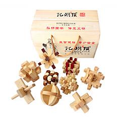 Puzzles Luban Verschluss Bausteine Spielzeug zum Selbermachen