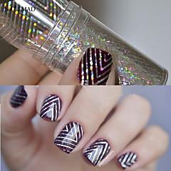 1 Nagel-Kunst-Aufkleber Folie Stripping Band Make-up kosmetische Nagelkunst Design
