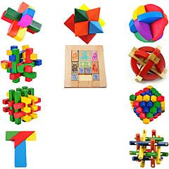Educatief speelgoed Kong Ming Lock Hout 5 tot 7 jaar 8 tot 13 jaar 14 jaar en ouder