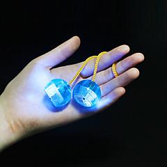 LED világítás Stresszoldó Újdonságok, geg játékok Körkörös Műanyag Textil Silica Gel