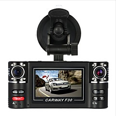 Car Camera F30s Car DVR 2.7 TFT LCD HD 1080P Dash Cam Rotated lens Vehicle Driving Digital Video Recorder Night Vision Camcorder