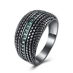 指輪 オパール キュービックジルコニア ベーシック ユニーク 幾何学形 友情 クロスオーバー ファッション ビンテージ ボヘミアスタイル パンクスタイル 愛らしいです あり ヒップホップ かわいいスタイル 欧米の トルコ語 シンプルなスタイル クラシッククリスタル ジルコン