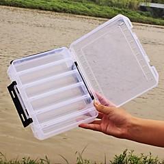 קופסאות קישוט קופסת תפירה קופסאת פתיונות מגשים2*17 סמ*4.5 פלסטיק