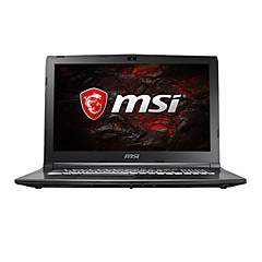 Msi gaming laptop 15,6 Zoll intel i7-7700hq 8gb ddr4 1tb hdd windows10 gtx1050ti 4gb gl62m 7rex-1252cn