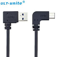 USB 3.0 Kaapeli, USB 3.0 to USB 3.0 C-tyypin Kaapeli Uros - Uros 1,0 (3ft)