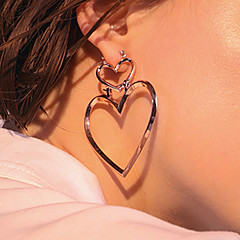 Women's Drop Earrings Fashion Euramerican Costume Jewelry Alloy Heart Jewelry For Daily Casual