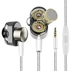 yinjw s1 kaksi kuljettajan kaiuttimista hifi basso subwoofer korva kuuloke earbud ammatillinen stereo näyttö Nappikuulokkeisiin mic