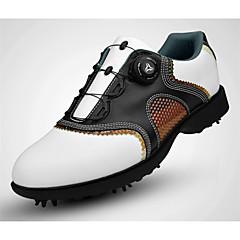 נעלי גולף בגדי ריקוד גברים גולף לביש נושם אימון יום יומי ספורט חוץ הצגה אימון ספורטיבי עור נאפה Leather עור גומי