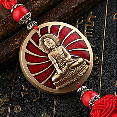 DIY Auto Pendants Enamel High Embossed Car Ornaments Decorated Gifts Healthy Lucky Car Pendant & Ornaments Pure Copper