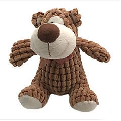 צעצועים ממולאים Bear בד פלסטיק