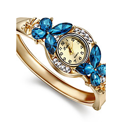 Women's Watch Crystal Opal Watch Rose Gold Plating Bracelet Cool Watches Unique Watches Fashion Watch