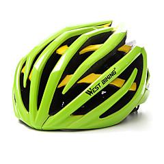 West biking Pánské Dámské Jezdit na kole Helma 24 Větrací otvory Cyklistika Cyklistika Lezení Velikost L: 59-63 cm; ESP+PC