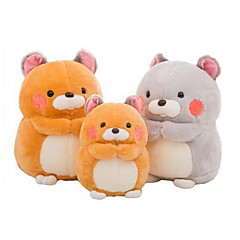 Stuffed Toys Mouse Animal Tosão Coral todas as Idades