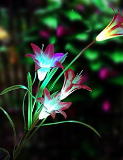 fiore di luce solare a led (1049-cis-28.079)