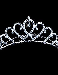 mooie legering met tsjechische strass bruiloft tiara / hoofddeksel