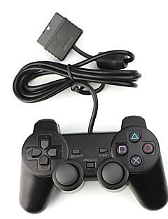 double clavier de contrôle choc pour PS2 (noir)