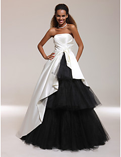 TS Couture® Prom / Formal Evening / Quinceanera / Sweet 16 Dress - Ivory Plus Sizes / Petite Ball Gown / A-line / Princess Strapless Floor-length
