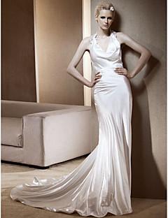 RACHIDA - שמלת חתונה מ- סאטן אלסטי ארוג