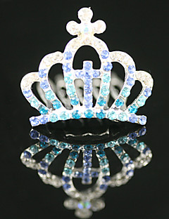 Gorgeous CZ Cubic Zirconia Flower Girl Tiara More Colors Available