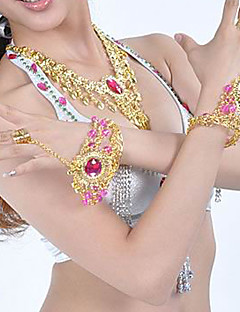 Metal With Rhinestone Belly Dance Jewelry Set More Colors Available