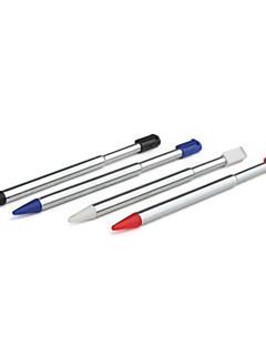 Metal Retractable Stylus Pen for Nintendo DS Lite (4-Pack)