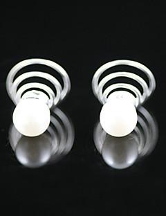 2 peças strass lindo / imitação de pérolas headpieces nupcial
