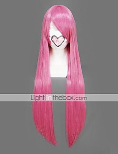 Cosplay Wigs Naruto Tayoya Pink Long Anime Cosplay Wigs 80 CM Heat Resistant Fiber Female