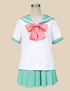 Inspired by The Prince of Tennis Sakuno Ryuzaki Cosplay Costumes