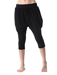 Yoga & Aerobics kvinna sportkläder sju åtta byxor (svart)